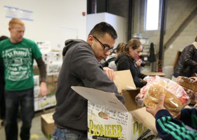 Volunteer at Greater Boston Food Bank
